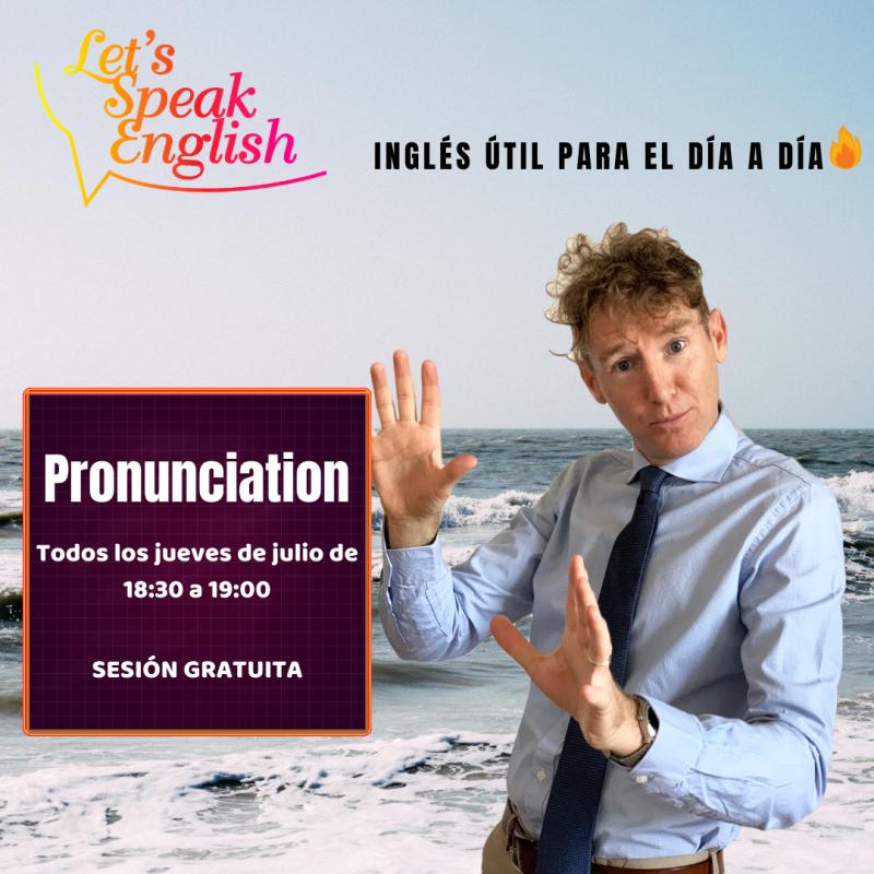 Clases de Pronunciación gratuitas