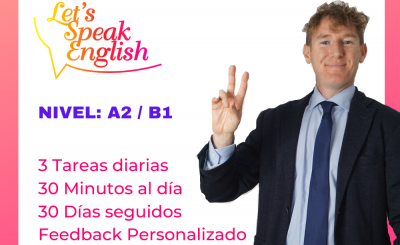 30 day Challenge A2 / B1 Let´s Speak English
