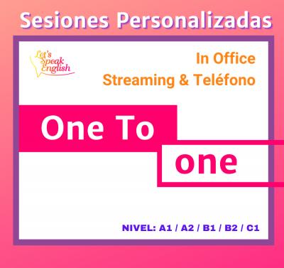 Curso de Agilidad Oral Let´s Speak English sesiones privadas
