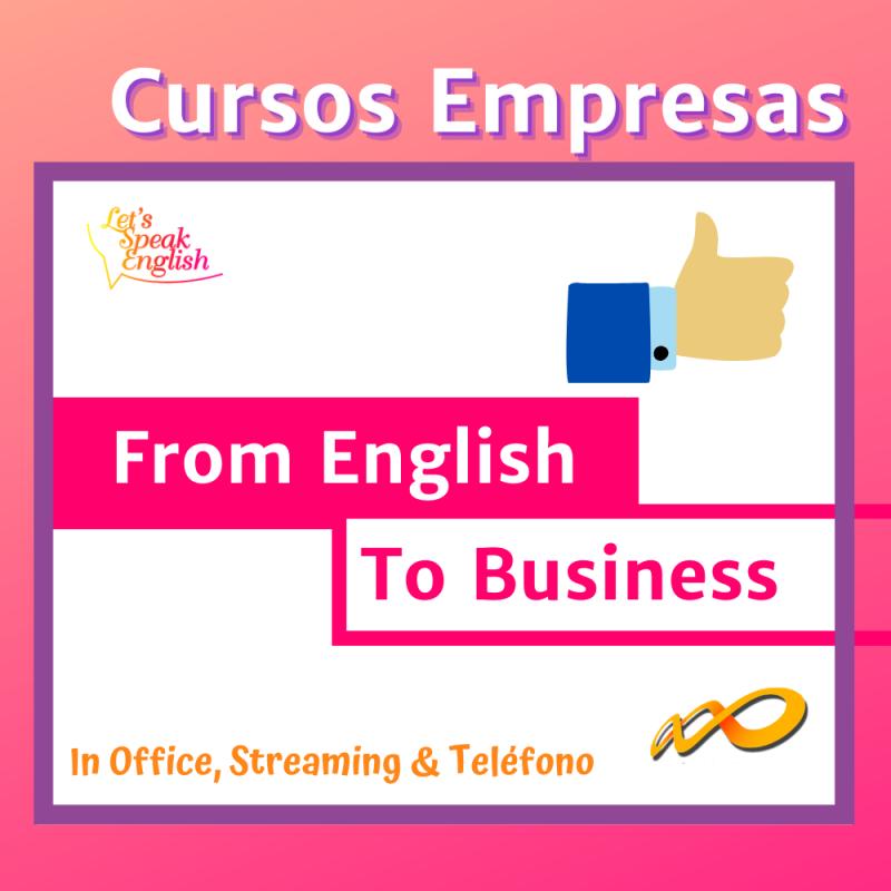 Curso de Agilidad Oral Let´s Speak English Empresas