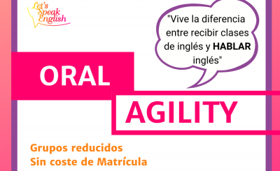 Curso de Agilidad Oral Let´s Speak English