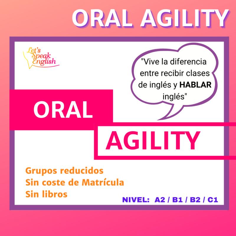 Curso de Agilidad Oral Let´s Speak English