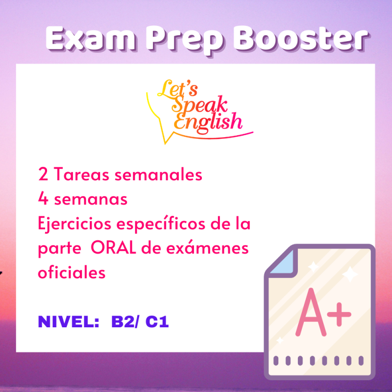 Exam Prep Booster