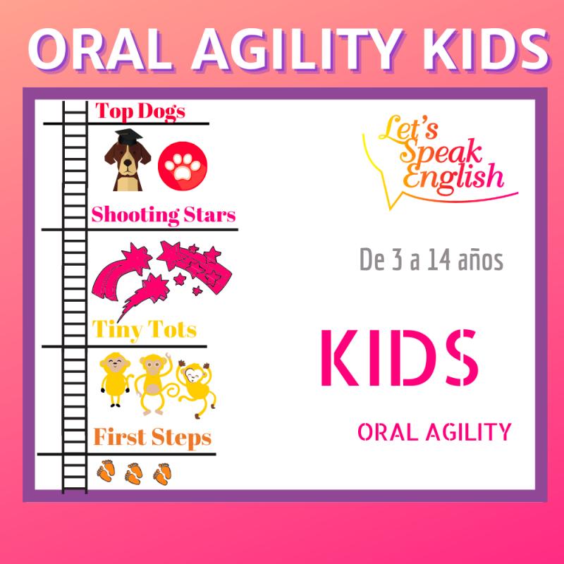 Curso de agilidad oral en inglés para niños